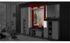 Garderobenpaneel Rondos Garderobe Wandpaneel Paneel in Sandeiche