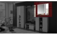 Spiegel Rondos Wandspiegel Hängespiegel Dekospiegel in Sandeiche 85 cm