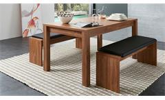 Esstisch Banko Tisch Esszimmertisch Küchentisch Tischsystem Akazie in 160-240
