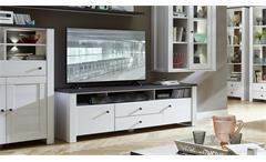 TV-Board Antwerpen Unterschrank Lowboard TV-Media Lärche und Pinie dunkel 190