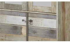 Garderobenschrank Bonanza Dielenschrank Schrank Driftwood B 78 cm