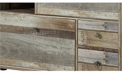 Schuhschrank Bonanza Kommode Regal Driftwood B 99 cm