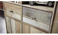 Schuhschrank Bonanza Kommode Regal Driftwood B 130 cm