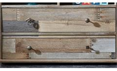 Vitrine Bonanza Vitrinenschrank Standvitrine Driftwood B 83 cm