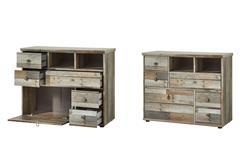 Kommode Bonanza Schrank Sideboard Anrichte Driftwood B 99 cm
