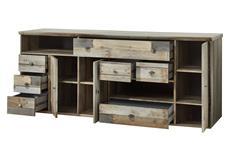 Sideboard Bonanza Kommode Sideboard Anrichte Driftwood B 194 cm