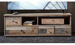 TV-Unterteil BONANZA Lowboard in Driftwood B 130 cm