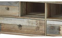 TV-Unterteil Bonanza Lowboard Kommode Driftwood B 130 cm