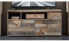 Lowboard BONANZA TV-Unterteil in Driftwood B 130 cm