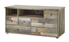 Lowboard Bonanza TV-Unterteil Kommode Driftwood B 130 cm