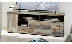 Lowboard BONANZA TV-Unterteil in Driftwood B 162 cm