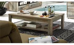 Couchtisch Bonanza Tisch Wohnzimmer in Driftwood 130x65 cm