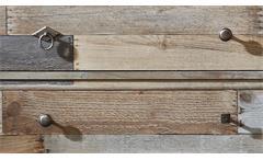 Wohnwand Bonanza Anbauwand in Driftwood 5-teilig