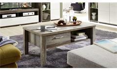 Couchtisch Crown-X Beistelltisch Wohnzimmertisch Tisch in Driftwood 113x60 cm