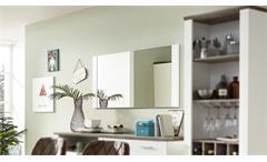 Spiegel MATEO weiß Wandspiegel Hängespiegel 134 cm