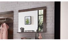 Spiegel Crown-X Wandspiegel Hängespiegel Flurmöbel Garderobe Driftwood 77x70 cm