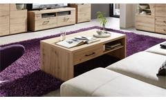 Couchtisch 02 Funny Plus Beistelltisch Tisch Wohnzimmer in Artisan Eiche 110x65