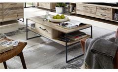 Couchtisch Roof Beistelltisch Wohnzimmertisch Tisch in Used Style 120x60 cm