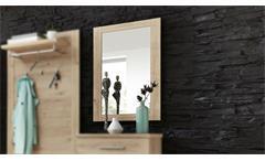 Spiegel Finca Wandspiegel Hängespiegel Flurmöbel Dielenmöbel Jackson Eiche 60x87