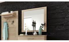 Spiegel Finca Hängespiegel Wandspiegel Flurmöbel Dielenmöbel Jackson Eiche 90x87