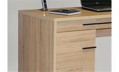 Schreibtisch CL 120 Laptoptisch Tisch Bürotisch in Sonoma Eiche sägerau Jahnke