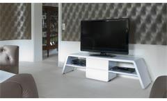 TV Lowboard CU Culture M 170 Hochglanz weiss Jahnke