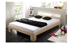 Futonbett 140x200 Bett Rhone Buche mit Kaltschaummatratze und Rollrost
