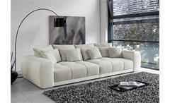 Big Sofa SAM Polstermöbel XXL Sofa in weiß grau beige 310
