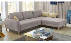 Wohnlandschaft Kopa Ecksofa in beige 285x213 cm Sofa