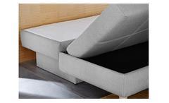 Schlafsofa MERLIN in hellgrau Funktionssofa 205 cm Sofa