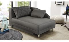 Recamiere ROY Sofa Funktionssofa in braun Schlaffunktion Bettkasten