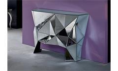Kommode PRISMA komplett verspiegelt Kare Design