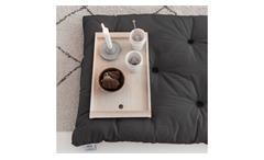 Futon Matratze Bed in a Bag Rollmatratze Matte Stoff dunkelgrau 70x190 cm Karup
