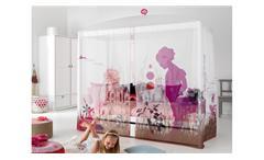 Himmelbett WONDERLAND Kinderbett mit Himmel Kiefer massiv Lifetime