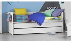 Kinderbett Life Time Kojenbett Bett Bettgestell Kinderzimmer in Kiefer massiv