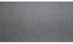 Wohnlandschaft Timo U-förmig Bezug in Stoff grau mit Nosagfederung und 5 Kissen