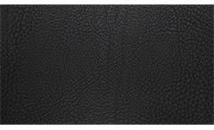 Sofagarnitur Nele 3-2 Garnitur in schwarz Füße massiv silber inkl. Nosagfederung