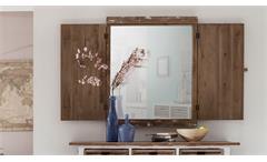 Spiegel Aimann mit Fensterläden Shabby Chic Landhaus Deko