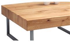 Couchtisch Inga 1 Beistelltisch Wohnzimmertisch Wildeiche Massivholz 75x75 cm