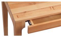 Schreibtisch Kona Schminktisch Telefontisch Kernbuche massiv geölt 2 Schubkästen