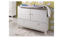 Wickelkommode BELLA Wickeltisch in weiß matt Babyzimmer