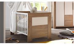 Babybett Granny Kinderzimmer Kinderbett zum Juniorbett umbaubar Stirling Oak