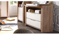 Wickelkommode Granny Wickeltisch Babyzimmer Kommode Stirling Oak & Anderson Pine