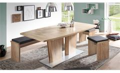 Tisch Table Dance C6 Esstisch Esszimmer in Stirling Oak Eiche ausziehbar 160-210