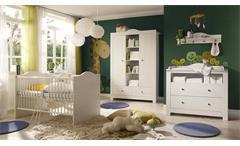 Babyzimmer Leni Komplett Set 4-teilig Anderson Pine mit Wickelauflage 87x71 cm