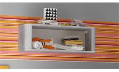 Hängeschrank Babyzimmer Frieda vintage wood grey Ablage Wandregal