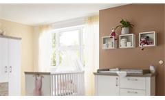 Hängeregale New York 3-tlg. Babyzimmer Anderson Pine weiß matt Wandwürfel