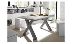 Esstisch Mister X Esszimmertisch Tisch Tischsystem graphit und beton 140x90 cm