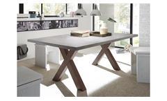 Esstisch Mister X Esszimmertisch Tisch Tischsystem rost und graphit 200x100 cm