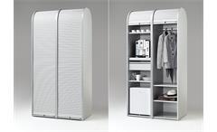 Rollladenschrank Klenk Dancer Kleiderschrank Büroschrank weiß abschließbar 50 cm
